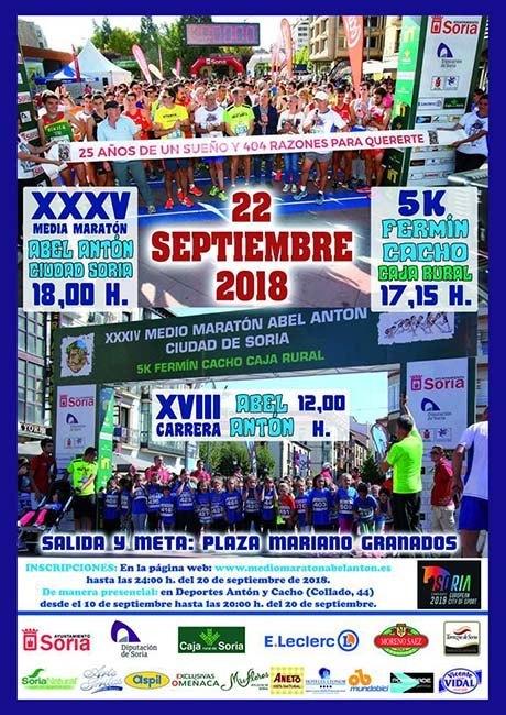 Media Maraton Abel Anton Ciudad de Soria 2018
