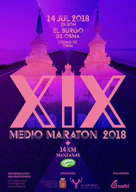 Medio Maraton Burgo de Osma 2018