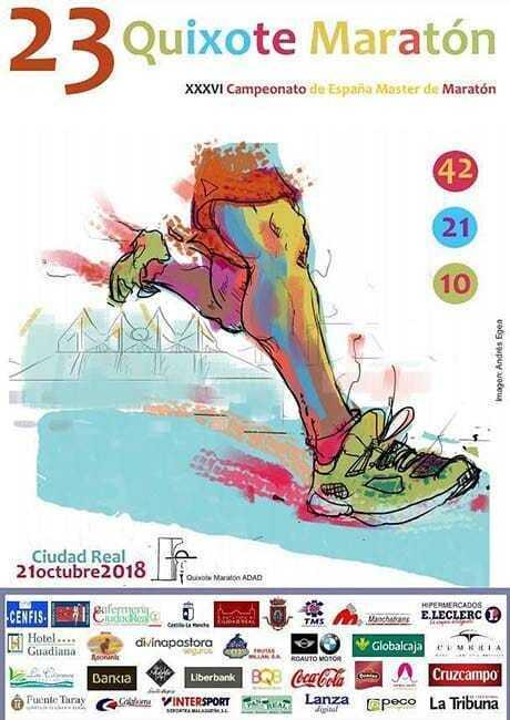 quixote maraton 2018 ciudad real