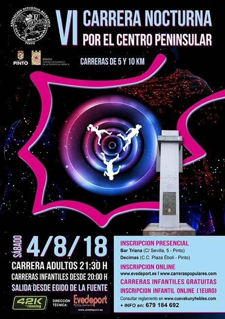 Carrera Nocturna de Pinto 2018