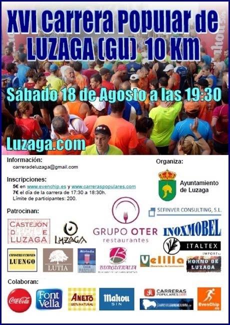 Carrera Popular de Luzaga 2018