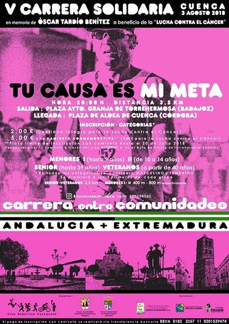 Carrera Solidaria Tu Causa Es Mi Meta 2018