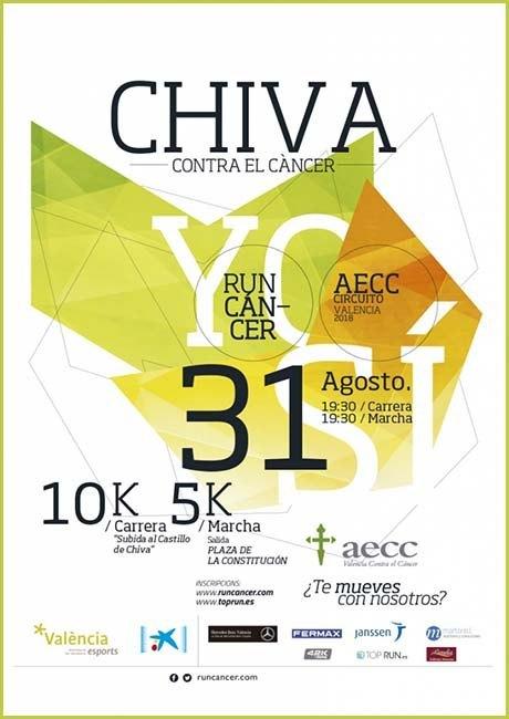 Carrera Solidaria Chiva Contra el Cáncer 2018