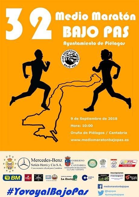 Media Maraton Bajo Pas 2018