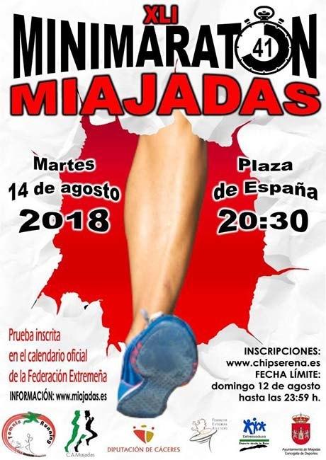 Mini Maratón de Miajadas 2018