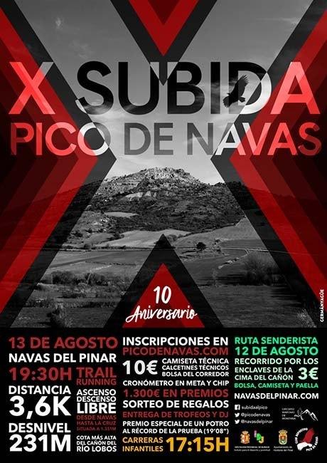 Subida al Pico de Navas 2018