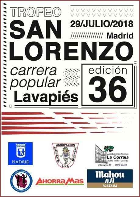 Trofeo San Lorenzo Lavapies 2018