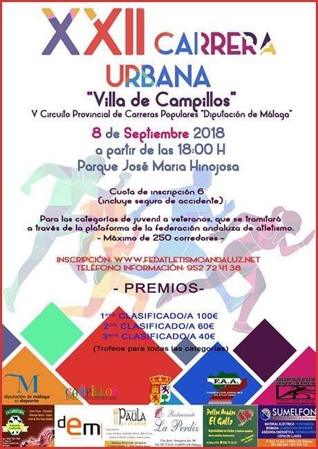 Carrera Popular Villa de Campillos 2018