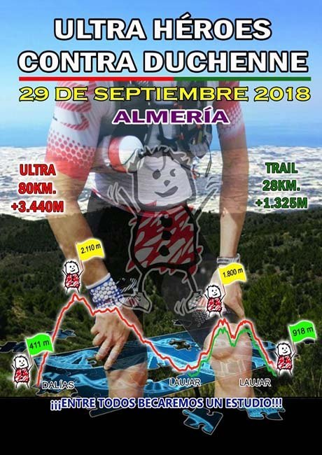 Ultra Héroes Contra Duchenne 2018