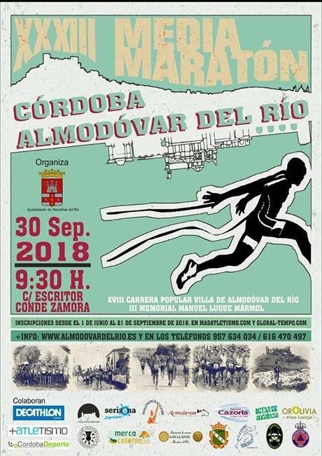 Media Maraton Cordoba Almodovar del Rio 2018