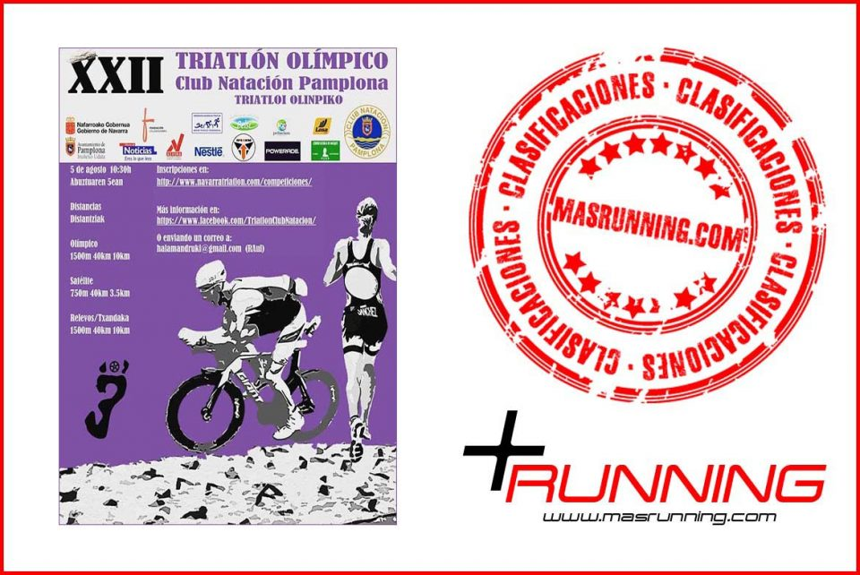 Resultados Triatlón Olímpico Club Natación Pamplona 2018