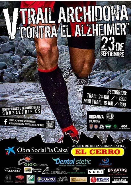 Trail Archidona contra el Alzheimer 2018