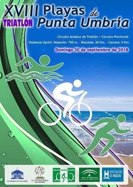 Triatlón Playas de Punta Umbría 2018