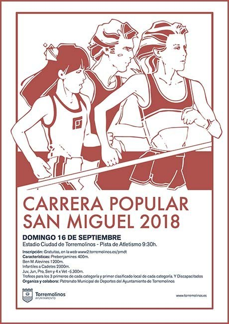 Carrera Popular San Miguel 2018