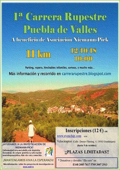 Carrera Rupestre de Puebla de Valles 2018