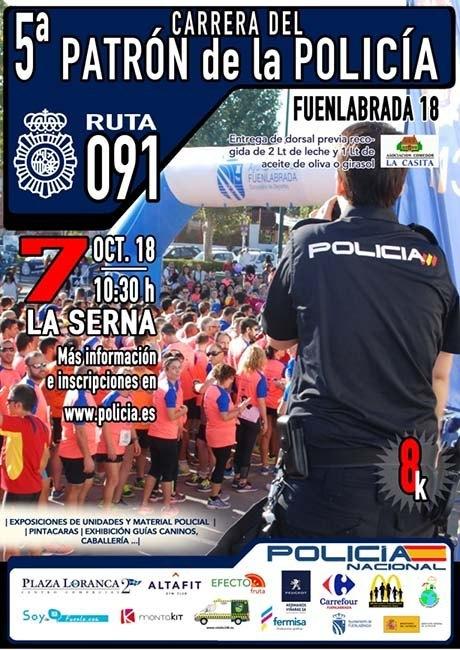 Carrera del Patrón de la Policía 2018