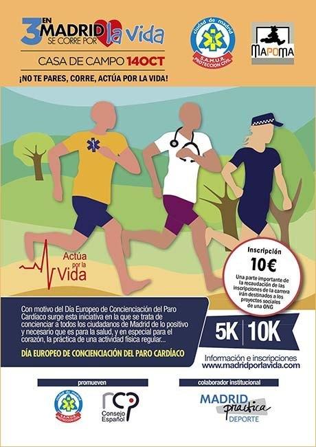 En Madrid Se Corre Por La Vida 2018