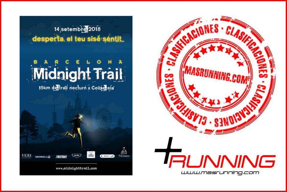 Midnight Trail Barcelona 2018