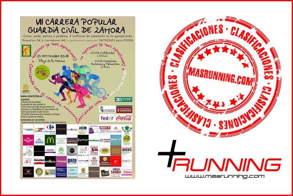 Carrera Popular Guardia Civil de Zamora 2018