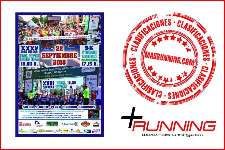 Media Maratón Abel Antón Ciudad de Soria 2018