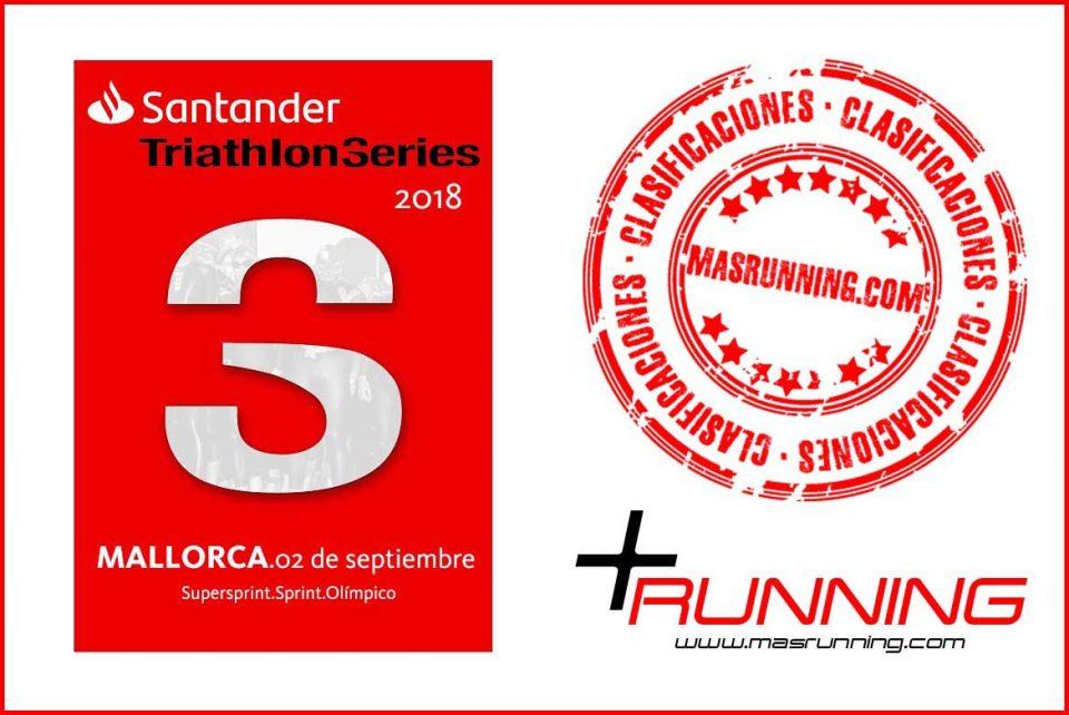Resultados Santander Triathlon Series Mallorca 2018