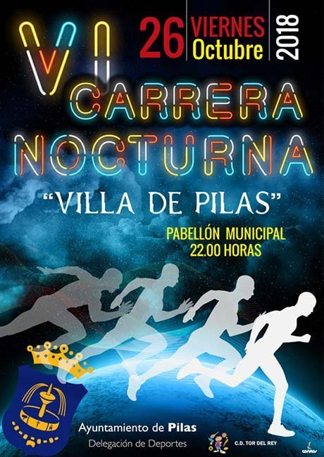 Carrera Nocturna Villa de Pilas 2018