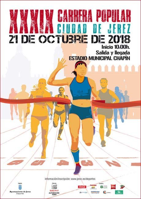 Carrera Popular Ciudad de Jerez 2018