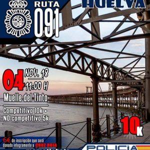 Carrera Solidaria Ruta 091 de Huelva 2018