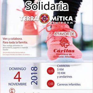 Carrera Solidaria Terra Mítica Park Benidorm 2018