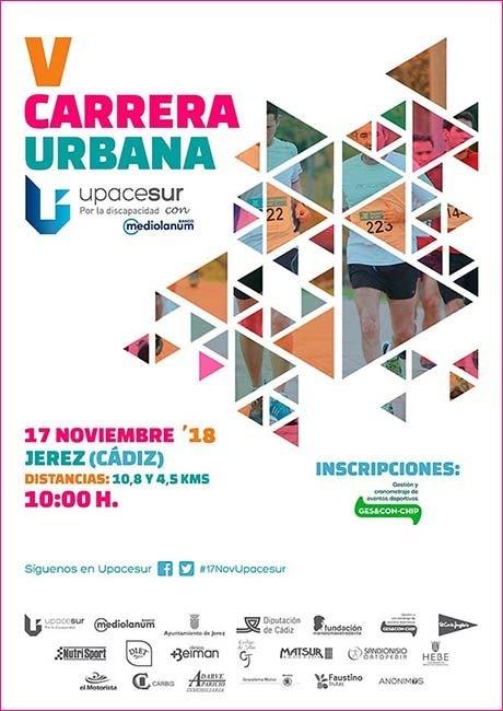 Carrera Urbana Upacesur 2018