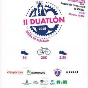 Duatlón Bahía de Málaga 2018