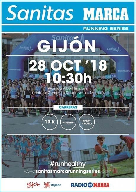 Sanitas Marca Running Series de Gijón 2018