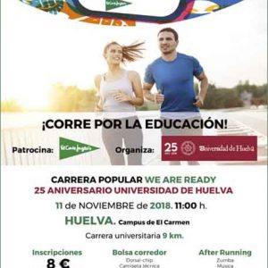 We Are Ready Universidad de Huelva 2018