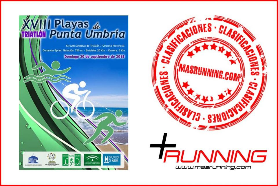 resultados triatlon playas de punta umbria 2018