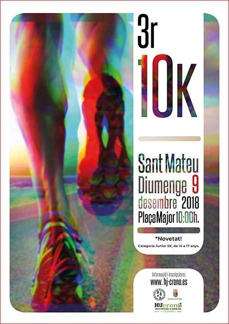 10K Sant Mateu 2018