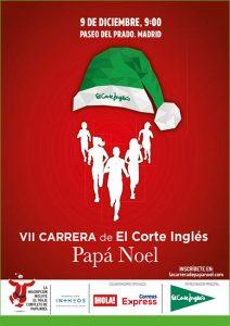 Carrera de El Corte Inglés Papá Noel 2018