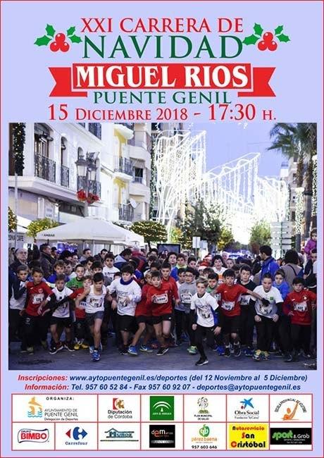 Carrera de Navidad Miguel Rios de Puente Genil 2018