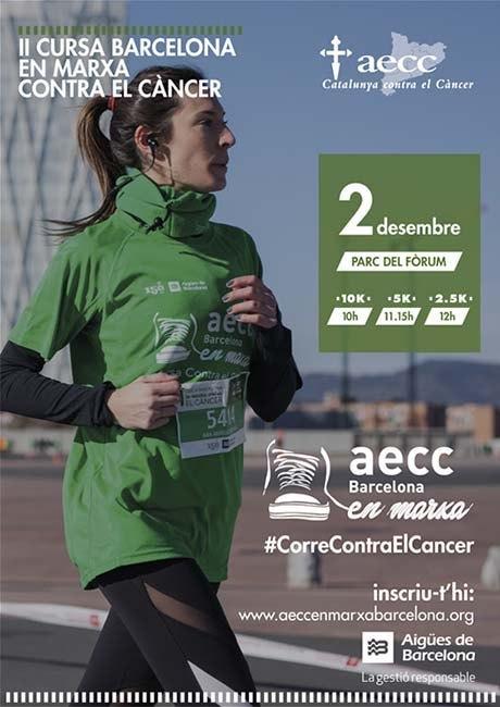 Cursa Barcelona en Marxa contra el cancer 2018
