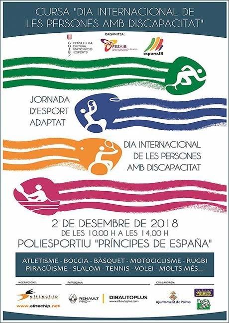 Cursa Dia Internacional de les Persones Amb Discapacitat 2018