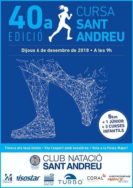 Cursa de Sant Andreu 2018