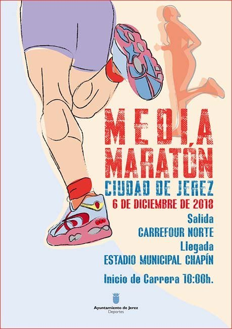 Media Maratón Ciudad de Jerez 2018