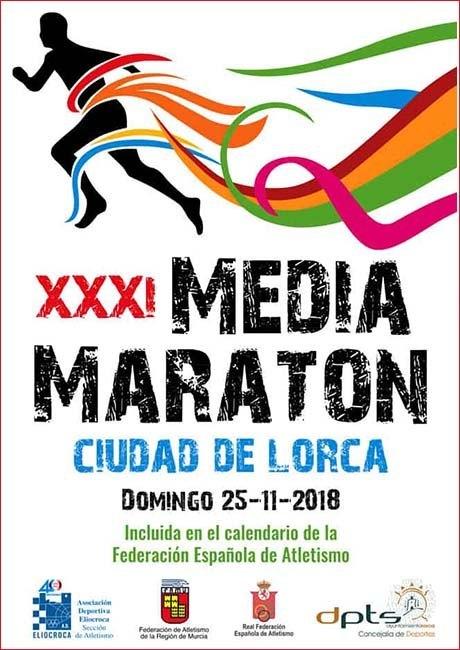 Media Maratón CIudad de Lorca 2018