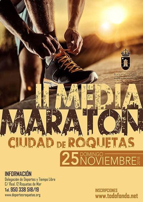 Media Maratón Ciudad de Roquetas 2018