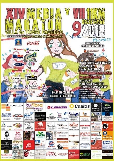 Media Maratón de Torre Pacheco 2018