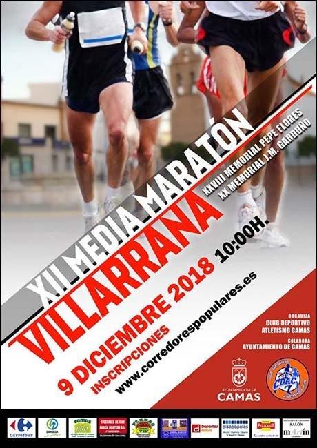 Media Maratón Villarrana 2018