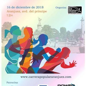 Carrera Popular Villa de Aranjuez 2018
