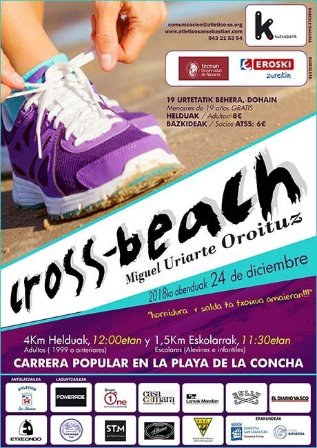 Cross Beach de San Sebastián 2018