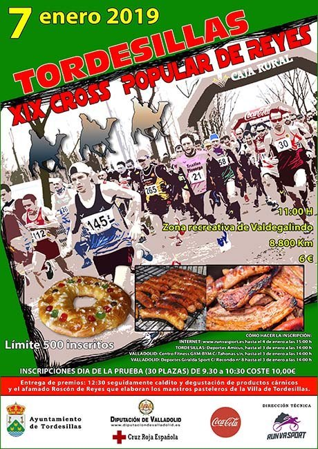 Cross Popular de Reyes de Tordesillas 2019