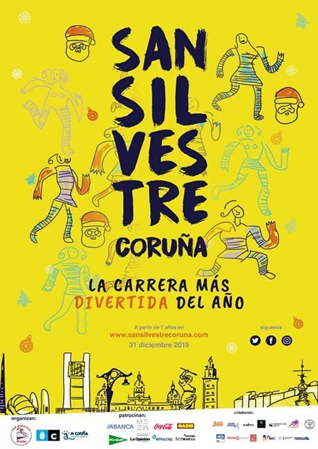 San Silvestre Coruna 2019