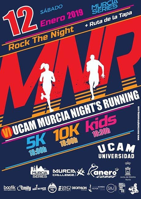 UCAM Murcia Nights Running 2019r